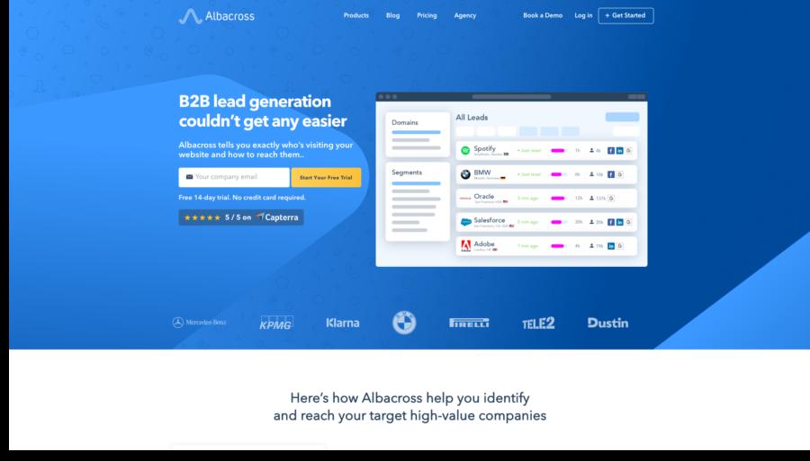 ferramenta de marketing digital albacross