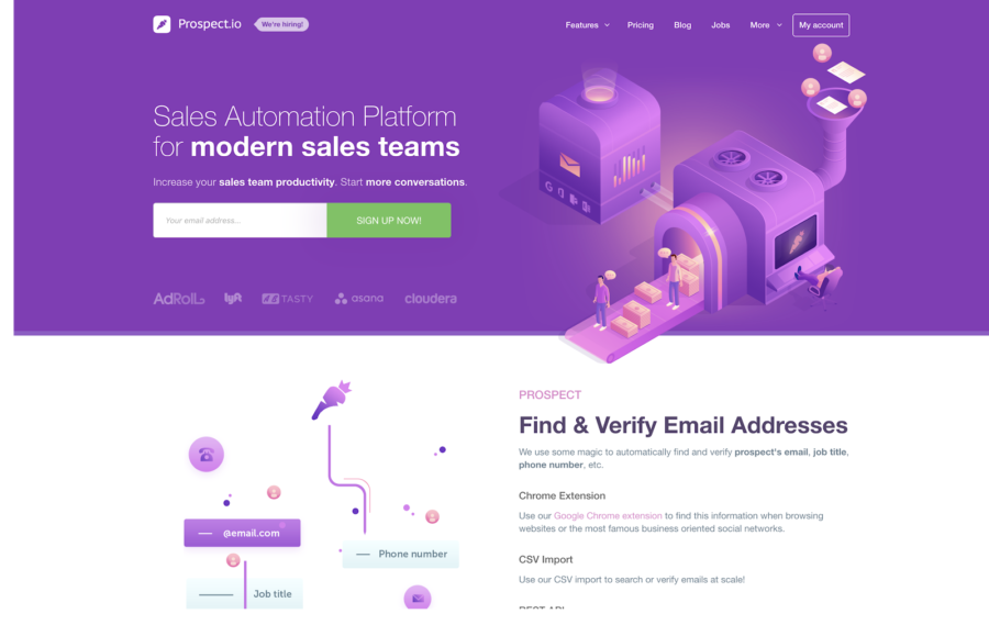 prospect.io marketing automation software
