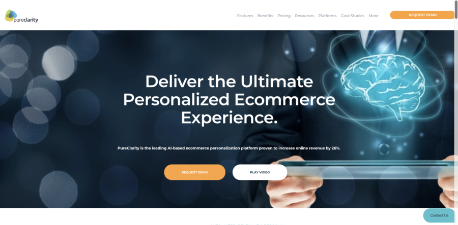 PureClarity website personalization tools