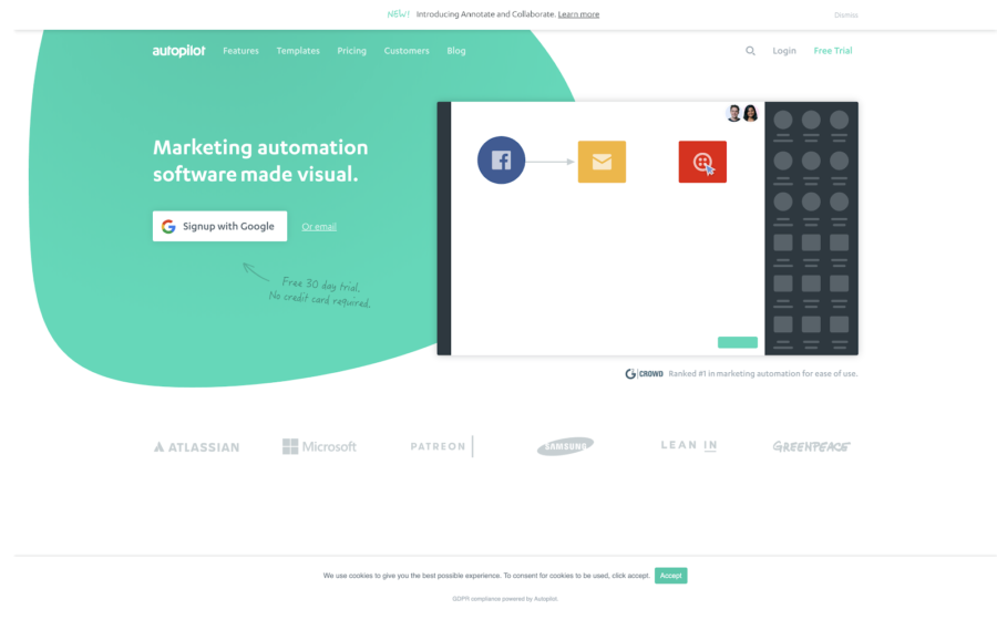 autopilot marketing automation software